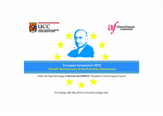 Symposium UCC: The 60th Anniversary of the Schuman Declaration