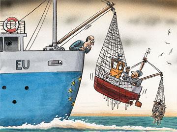 Illustration: Peter Schrank (The Economist)