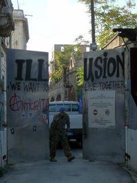 Buffer Zone UNFICYP Ledra Street Nicosie
