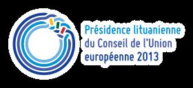 Présidence_lituanienne_du_Conseil_de_l'Union_européenne_2013_logo_horizontal_RGB.svg