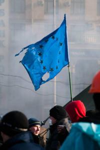 Kiev - le 19 février 2014 - Photo prise par un membre de l'Atelier Europe